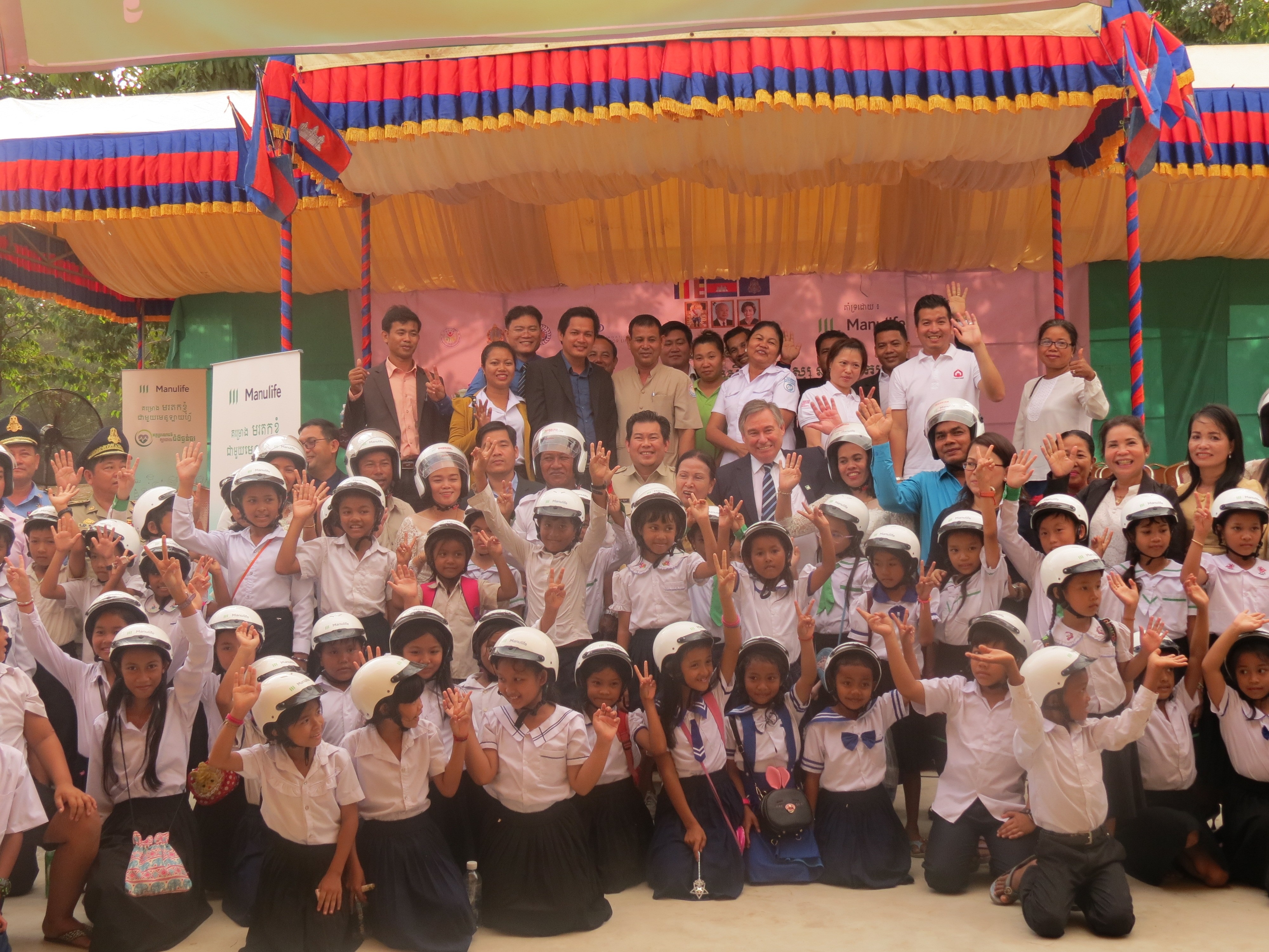Helmets for Families helps protect the children of Preah Sihanouk Province