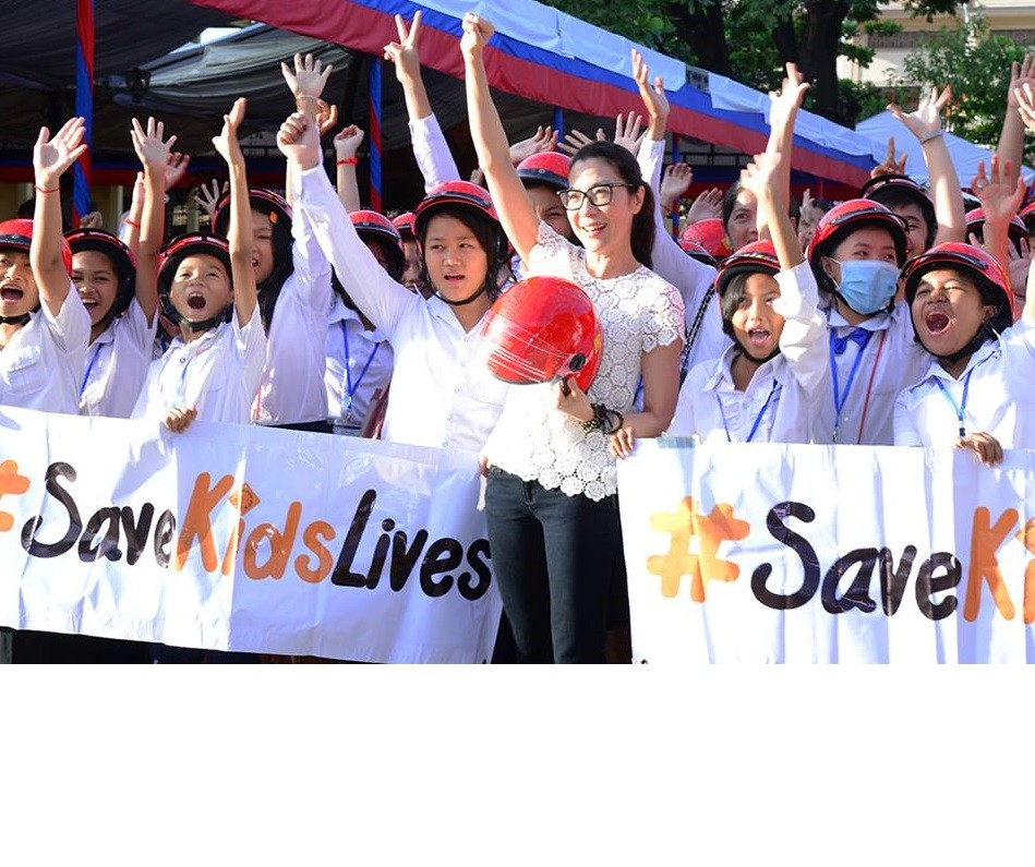 Michelle Yeoh in #Save Kids Lives
