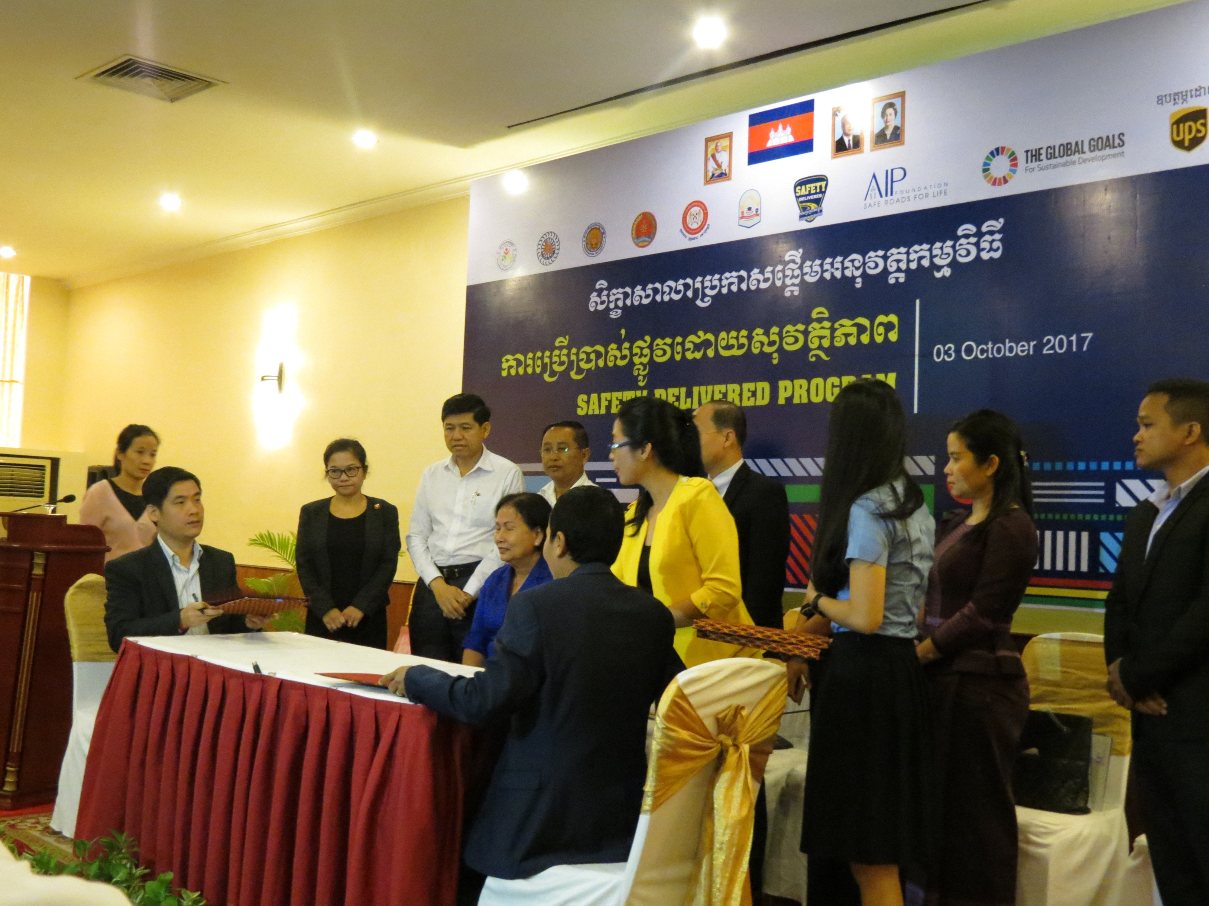 Road safety program launches in Cambodia, where young people account for 45% of road crash fatalities