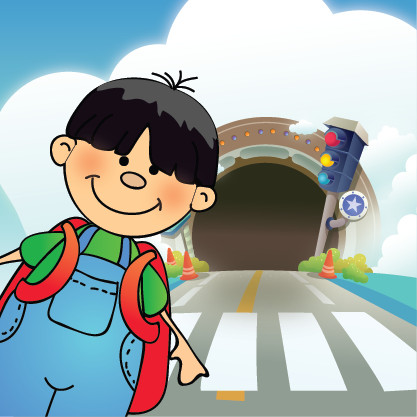 Sophal goes to school